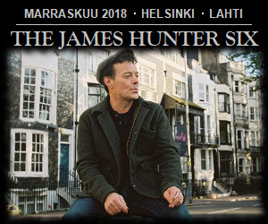 james hunter, keikat, konsertit, suomi, 2018