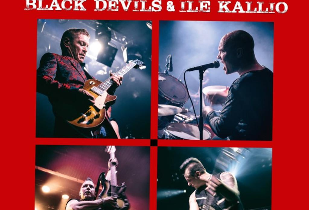 Ile Kallio ja Black Devils Hurriganes-hengessä: levy ilmestyi, myös uusi video