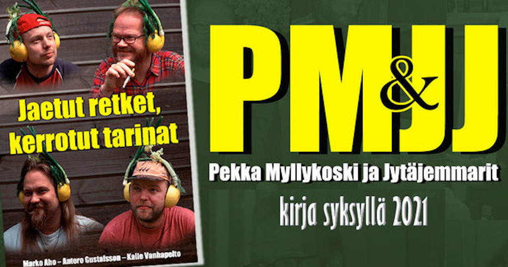 Pekka Myllykoskesta ja Jytäjemmareista on tekeillä kirja